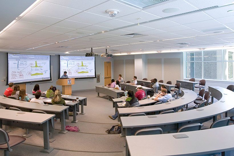 Emory College Classroom Design Guide ~ Temple university michael graves architecture design