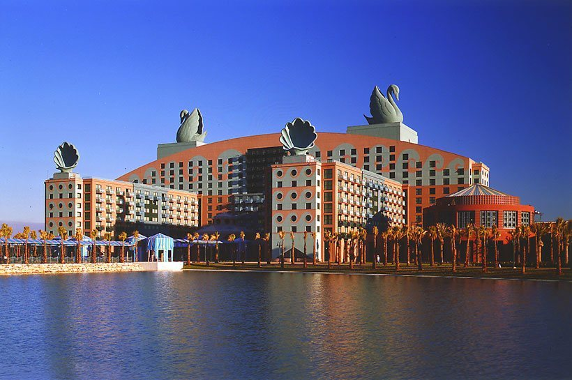 The walt disney company michael graves architecture design for Best architecture hotels in the world
