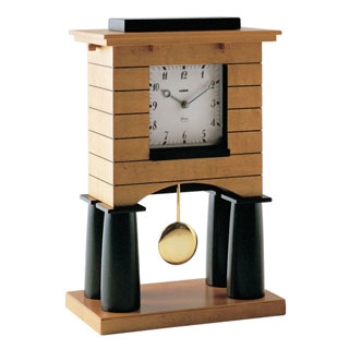 Mantel Desk Clock by Michael Graves Design for Alessi