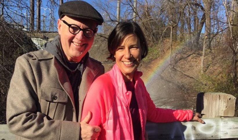 Bob Thacker and Karen Cherewatuk