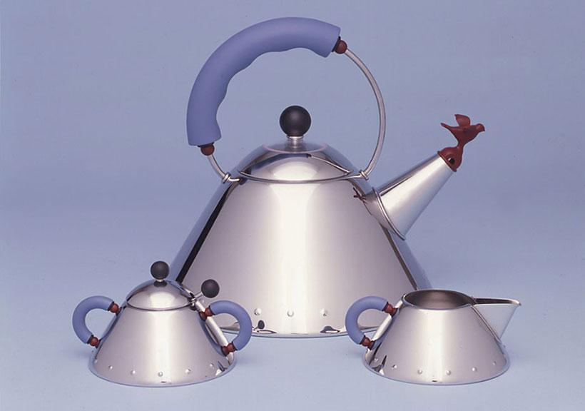 Alessi 9093 Tea Kettle Set