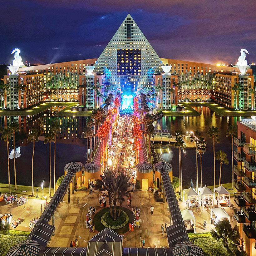 Walt Disney Dolphin and Swan Hotel