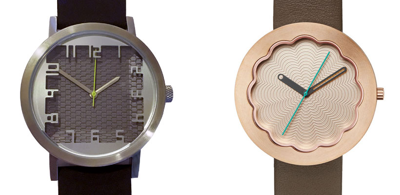 Projects Watches MADO (Left) and Scallop (Right) Watches designed by Michael Graves Architecture and Design
