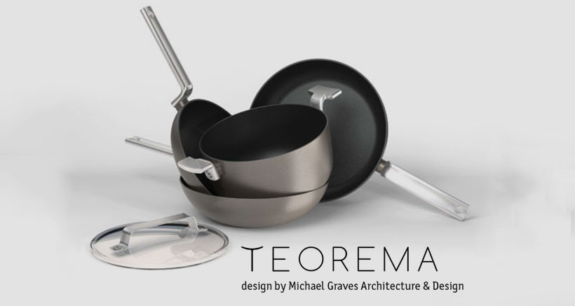 TEOREMA Cookware Line by Michael Graves Design will be featured at 2017 Chicago Housewares Show