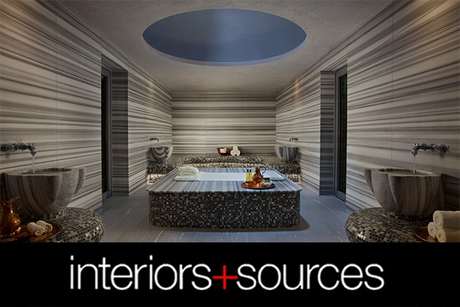Interiors & Sources Logo featuring ESPA