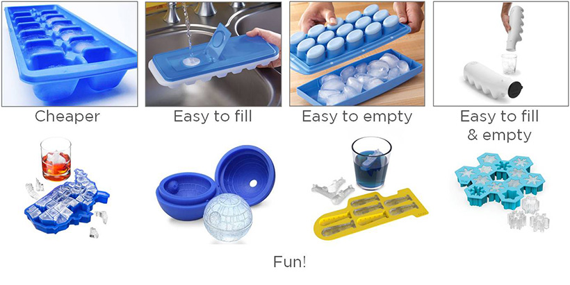 Ice Cube Tray Examples and Evolution