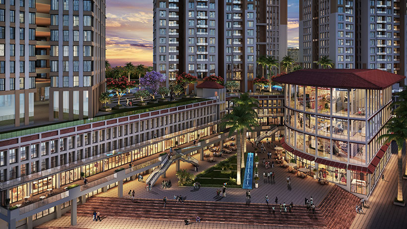 This building features 4,000,000 square foot mixed-use development.