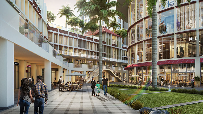 Colombo Square will also provide an enhanced environment for all who live, work, shop, stroll, overnight, visit, or simply come across the project.