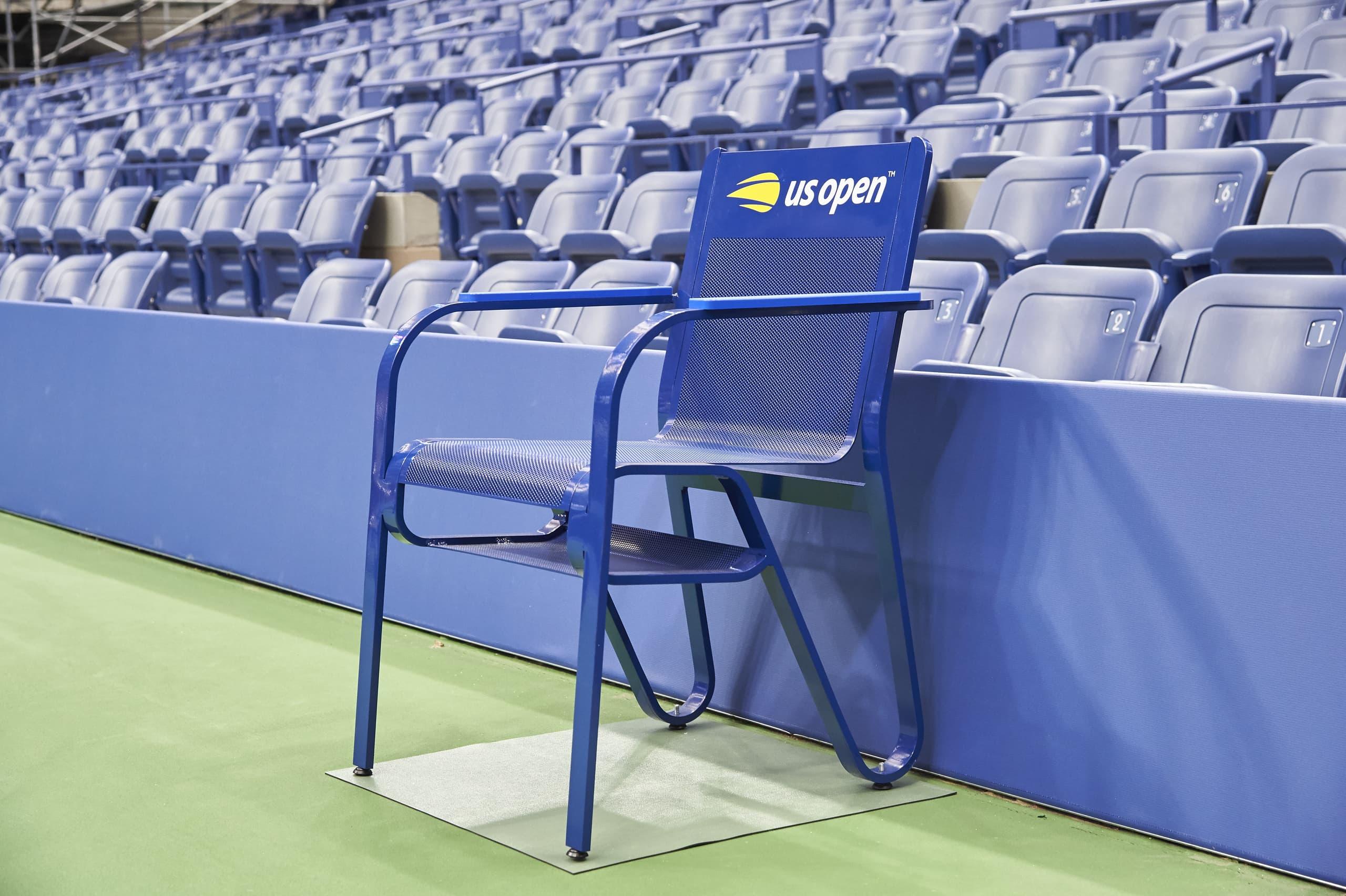 US Open Line Judge Chair