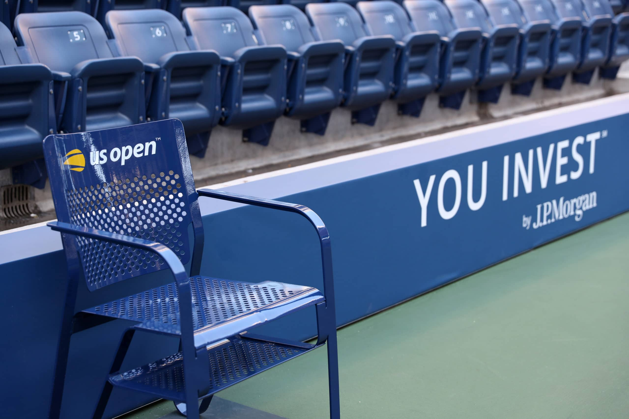 September 3, 2019 - Around the grounds at the 2019 US Open. (Photo by Allison Joseph/USTA)