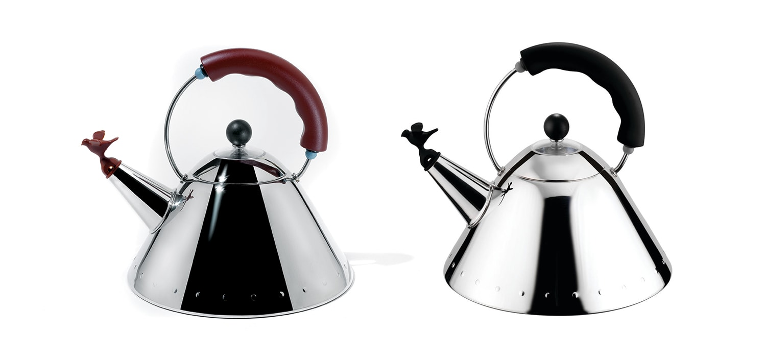 Alessi Whistling Bird Teakettle by Michael Graves