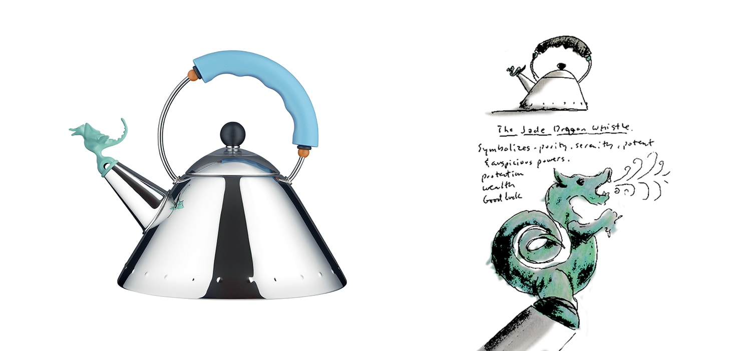 Alessi Tea Rex Kettle by Michael Graves