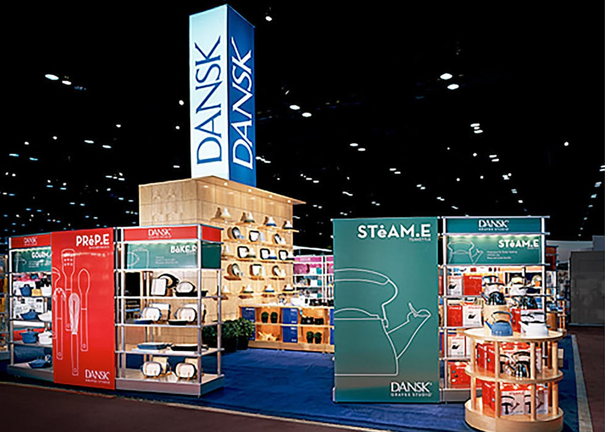 Dansk Trade Booth Exhibit by Michael Graves