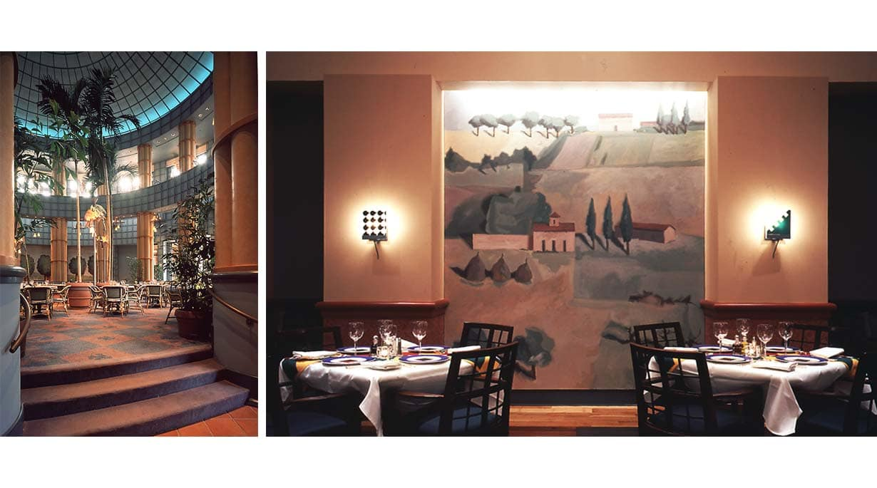 Walt Disney Swan and Dolphin Hotel Dining by Michael Graves