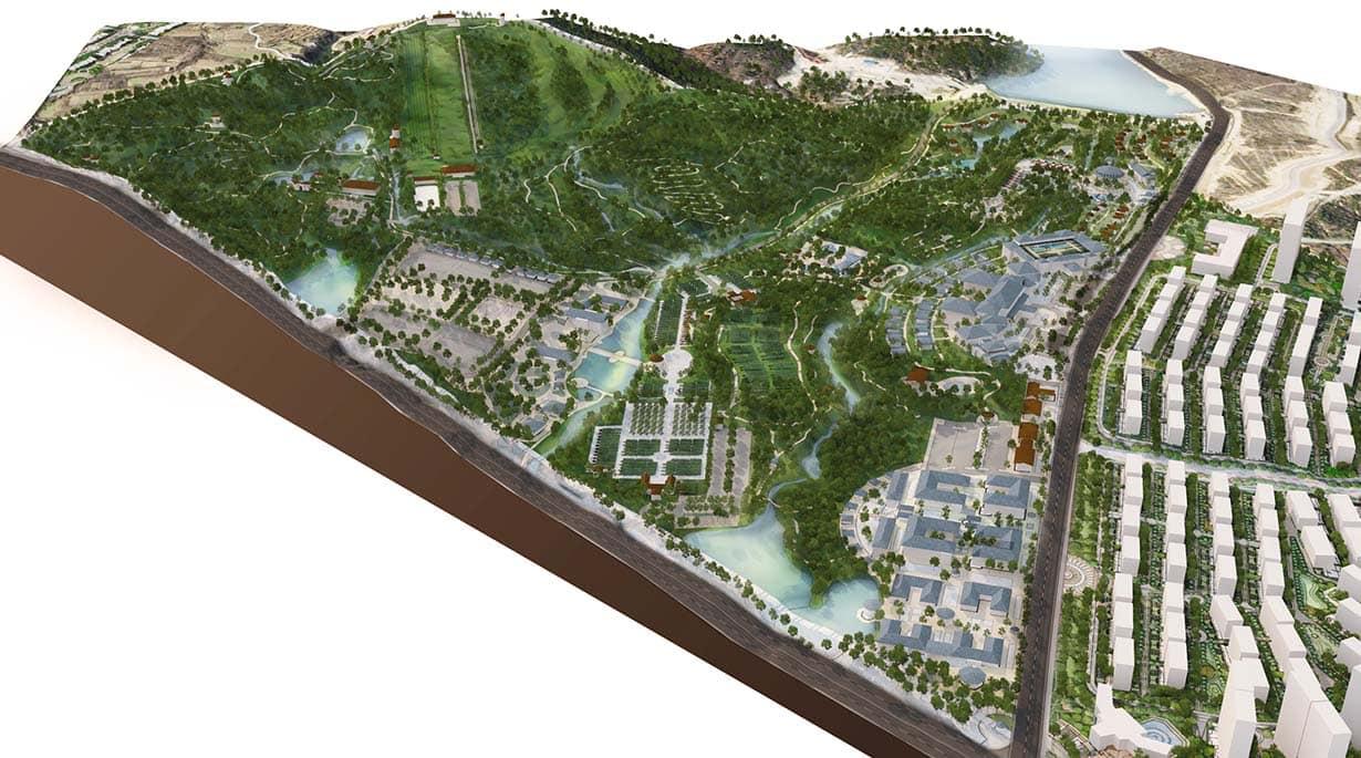 Yantai Resort Master Plan by Michael Graves