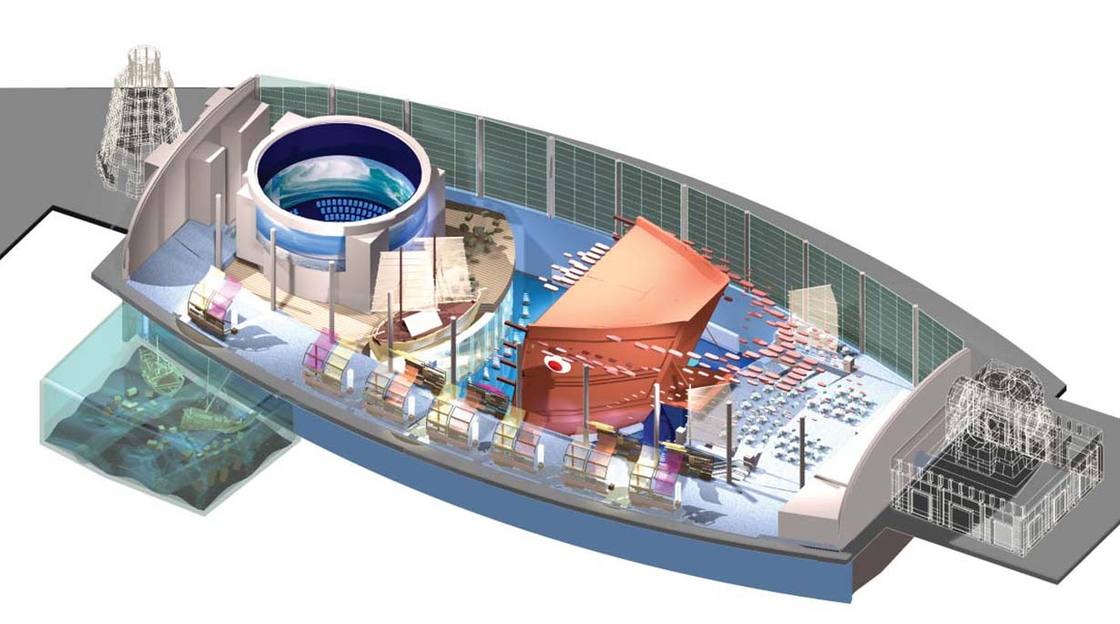 Maritime Experiential Museum by Michael Graves