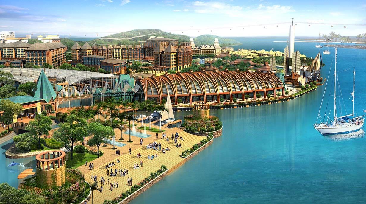 Resorts Master Plan by Michael Graves
