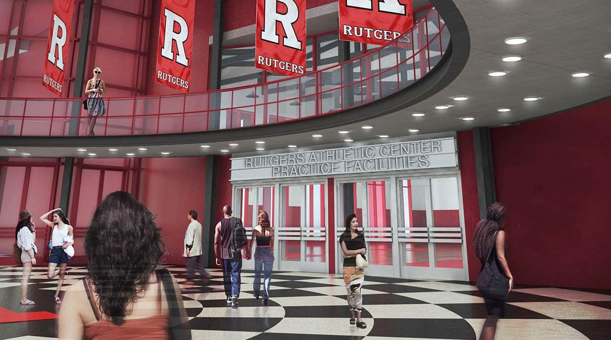 Rutgers Athletic Center by Michael Graves