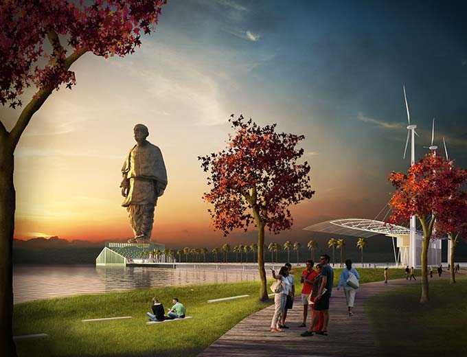 Statue of Unity by Michael Graves