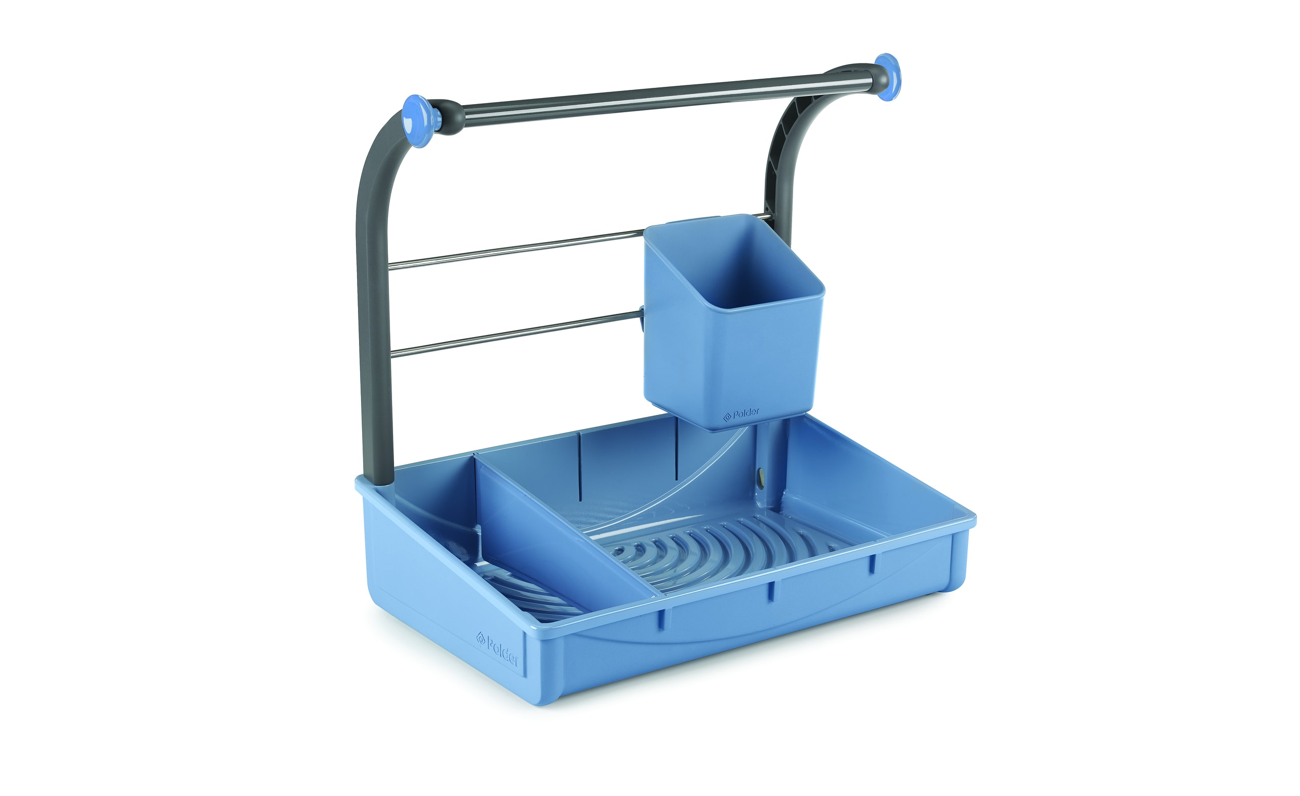 Polder Under Sink Storage Caddy 3-Quarter View by Michael Graves