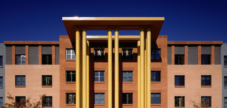 Laurel Hall NJIT by Michael Graves