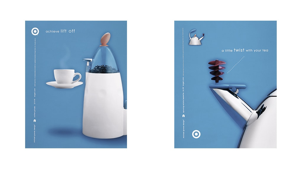 Target Magazine Ads by Michael Graves