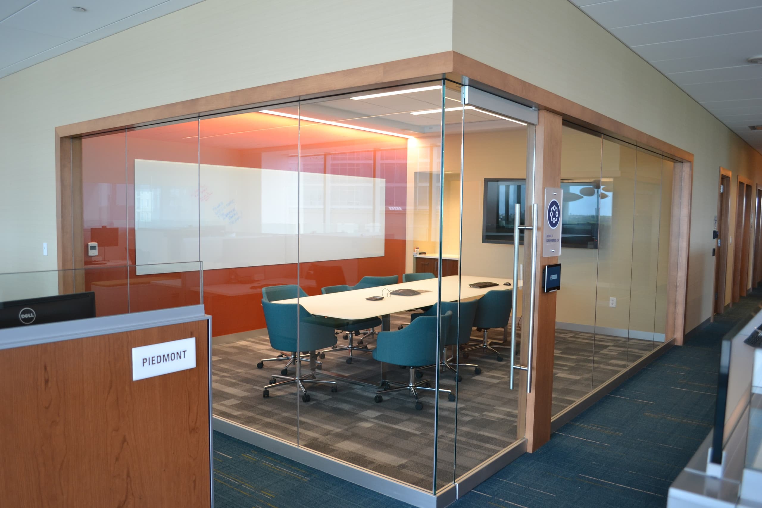Financial Services Company Workplace Transformation Pilot Conference Room by Michael Graves