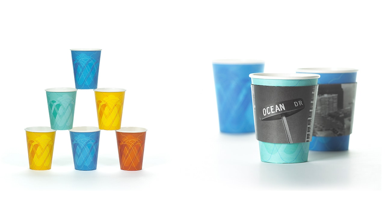 Wyndham Coffee Cup Design by Michael Graves